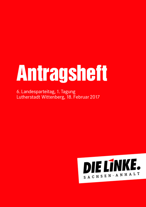 Antragsheft, PDF zum Download (512 kB)